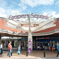Coopers Square Shopping Centre, Burton upon Trent, Staffordshire.