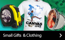 Personalised small gifts and clothing