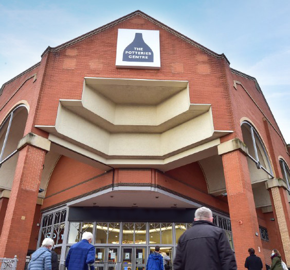 The Potteries Shopping Centre, Stoke On Trent, Staffordshire.